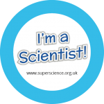 Image of the 'I'm a Scientist!' sticker